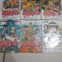 Komik Naruto vol 1-5 paket segel free Komik Rock Lee vol 1