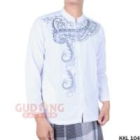 Baju Koko Muslim Bordir Lengan Panjang KKL 104