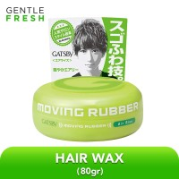 Gatsby Gel Rambut - Moving Rubber Air Rise Hijau 80g Wax Rambut Pria