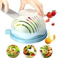 sedia Salad Cutter Bowl Mangkok Pemotong Buah dan Sayur