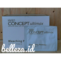 Makarizo Concept Ultimax Bleaching Powder Sachet 15gr x 24