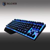 SADES Karambit TKL Mechanical Keyboard Gaming FREE USB WIFI
