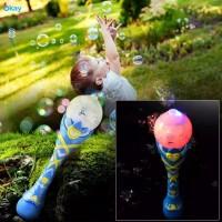 Mainan Anak Magic Bubble Wand Stick / Peniup Gelembung Sabun