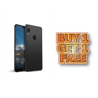 BUY 1 GET 1 FREE Case Babyskin Soft Black Matte Huawei Nova 3i