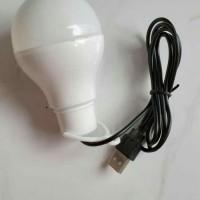 Lampu LED Bohlam Emergency ACE Light Kabel USB 5 W