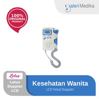 Fetal Doppler LCD Lotus / Alat Dengar Detak Jantung Janin