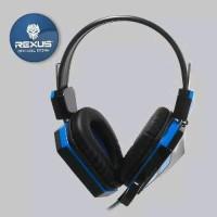Headset Gaming Rexus F22 Mic Blue Berkualitas