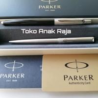 Paket Parker Koleksi 1: 1 pc JotterBlack Bp + 1 pc Vector Stainless Bp