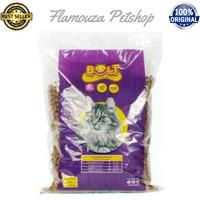 Makanan Kucing BOLT Repack 1Kg / Bentuk Ikan