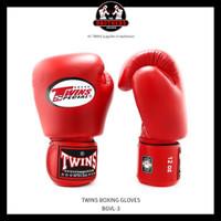 Sarung Tinju TWINS Boxing Glove 10 oz - Red