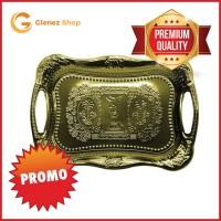 Baki / Nampan Arab Stainless Steel Gold
