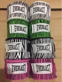 Everlast Zebra Hand Wrap Handwrap MMA Muay Thai Body Combat 5M