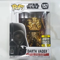 Funko POP! Star Wars - Darth Vader Gold Chrome (Galactic Convention)