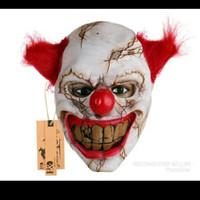 topeng badut latex seram clown