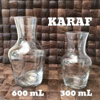 Gelas Karaf 300 mL / Vase Jug / Gelas Karaf / Milk Jug / Gelas Unik