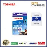 TOSHIBA Flash Air 64GB Wifi SD Card Wireles LAN Flash Air TSH-W04-10