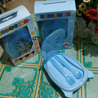 Tempat Bekal Kotak Makan Doraemon Lengkap