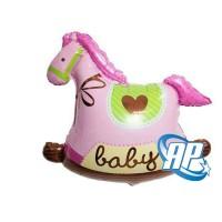 balon foil kuda bayi mini/ balon kuda bayi girl / baby shower / bayi