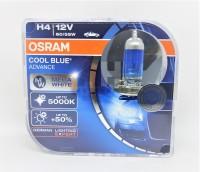 Osram H4 Cool Blue Advance CBA 60/55W Lampu Halogen Mobil Putih 5000K