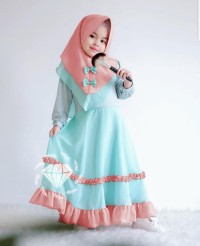 maxi piyu kid/maxi hijab anak/dress muslim anak/dress gamis anak murah
