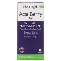 Natrol Acai Berry Diet Weight Management 60 caps TERLARIS