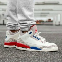 Sepatu Basket Nike Air Jordan 3 Retro Charity Game