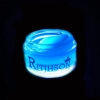 POMADE RITJHSON GLOW IN THE DARK BLUE FREE SISIR SAKU