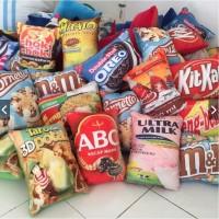 Bantal Snack 30x40 ( Pembelian Bal an) / Tersedia juga link.eceran