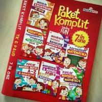 Edukasi Komplit 7in1 Buku Anak Berhitung Membaca IQ TK PAUD Aktivitas