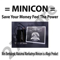 Minicon Penghemat BBM & Menstabilkan Voltase Mobil - Garansi 10 Thn