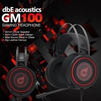 dbE GM100 / GM 100 Gaming Headphone Original Garansi Resmi