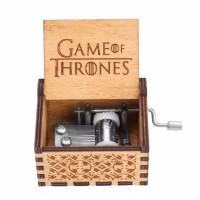 Kotak Music Kayu Game of Thrones Wooden Music Box