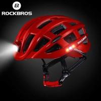 Helm Sepeda Lampu Charge USB ROCKBROS ZN1001