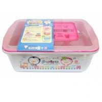 Puku Container Drying Rack 30505 - PINK Rak Pengering Botol Susu Anak