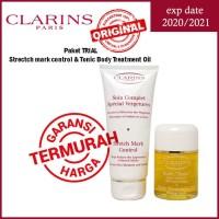 Paket TRIAL CLARINS Strectch mark control & Tonic Body Treatment Oil