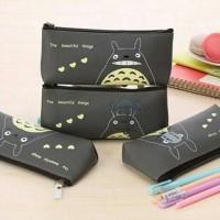 Tempat Pensil Totoro Bahan PU