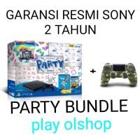 ps4 sony slim 500 gb party bundle extra dualshock 4 camo