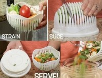 Salad Cutter Bowl Mangkuk Alat Pemotong Salad Buah .