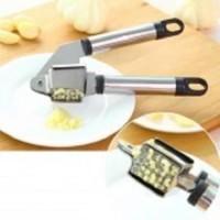 GP model baru Alat Penghancur Bawang Stainles Garlic Press