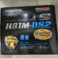 GIGABYTE Motherboard H81M-DS2 (DDR3, LGA 1150)