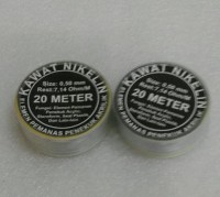 KAWAT NIKELIN ( 0,15 mm )/KAWAT PEMOTONG KARET STEMPEL