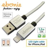Amber ELT-L01 - USB Lightning Cable, 1.2m, Silver