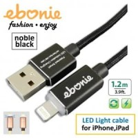 Amber ELT-L05 - USB Lightning Cable, 1.2m, Black