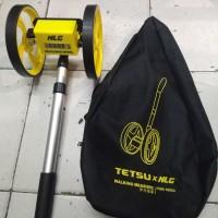 Measuring Wheel Walking Measure Meteran Jalan Meteran Dorong Tetsu NLG
