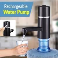 Pompa Galon Elektrik USB Motif Keran Rechargeable Water Pump