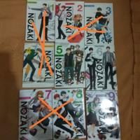 Komik Komikus Shojo Nozaki Vol 5, 6, 9 Bekas