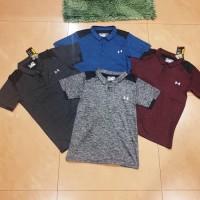 Kaos Baju Olahraga gym fitnes Running Big Size XXL 2XL Adidas Berkerah