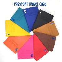 Passport Travel Case Pvc Leather Sampul Paspor Passport Cover Case