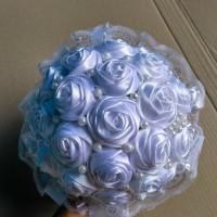 Buket Bunga Satin & Hand Bucket Wedding