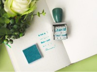 Stempel Label Warm Life Deco Label Stamp With Inkpad Bagus Ada Tinta
